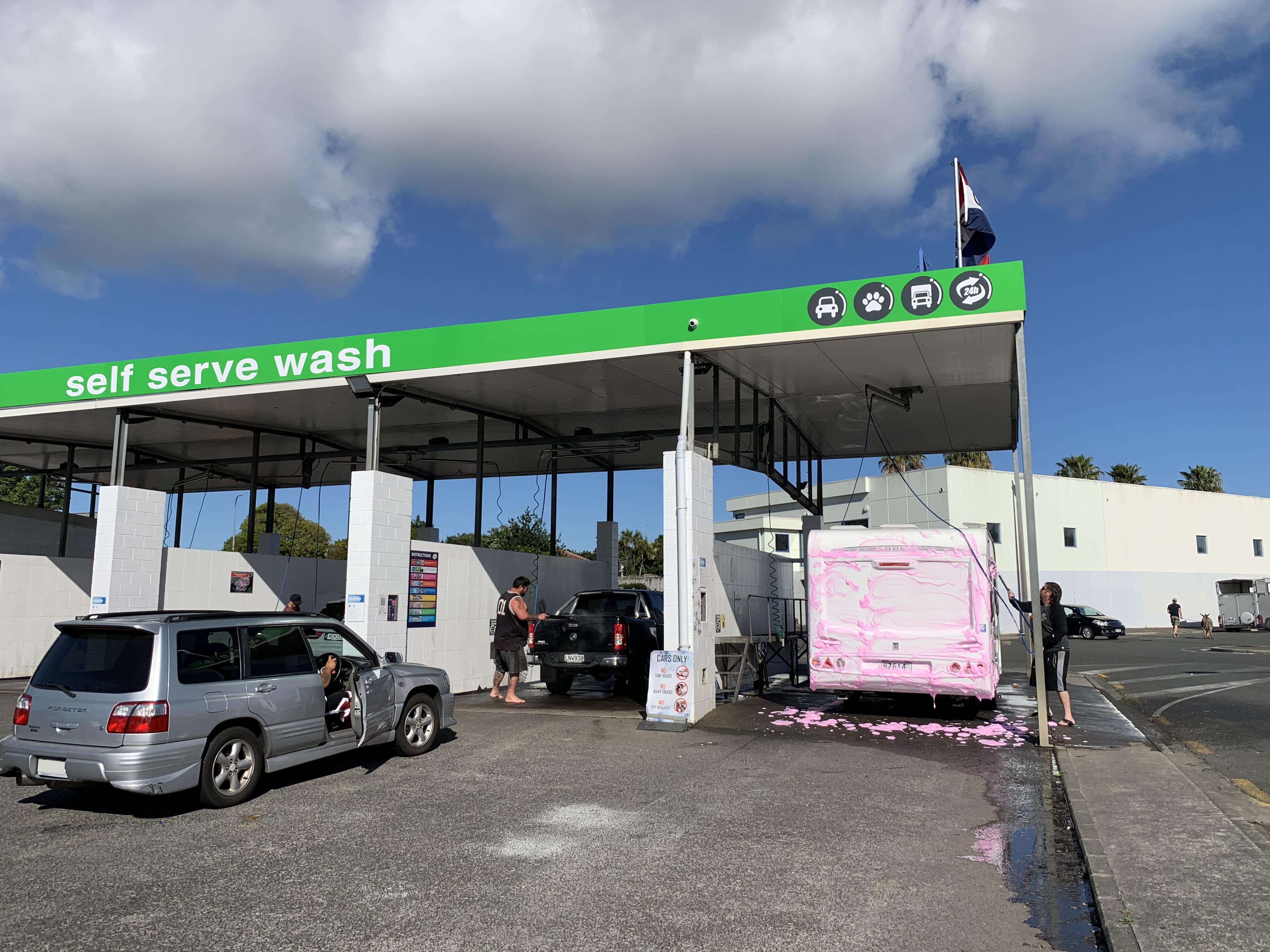 Truck & Campervan Wash